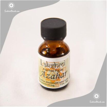 aceite de Azahar puro x 10 cc