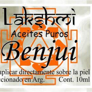 etiqueta de aceite de benyui
