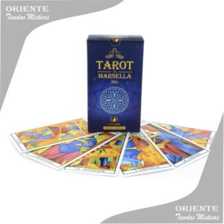 Naipes de tarot Marselles marca iluminarte