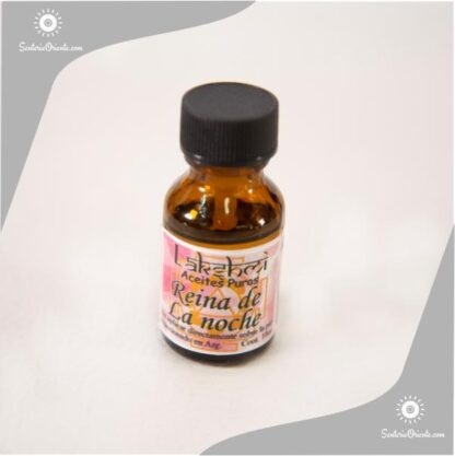 aceite de reina de la noche puro en botella de 10 cc