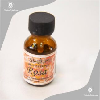 aceite de rosa puro en botellas de 10 cc