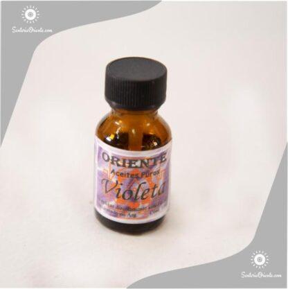 aceite de violeta puro x 10 cc en botella