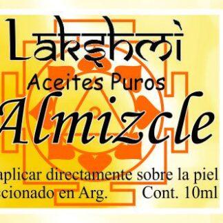 etiqueta de aceite de almizcle