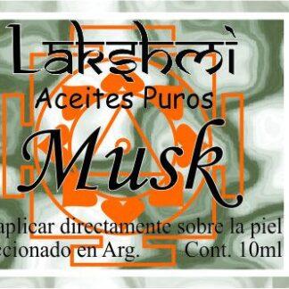 etiqueta aceite musk