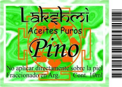 etiqeuta aceite de pino