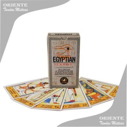 Naipes de tarot egipcio nacional marca iluminarte