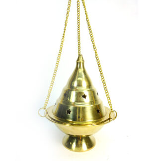 sahumador de bronce