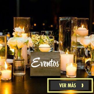 Velas para fiestas y eventos