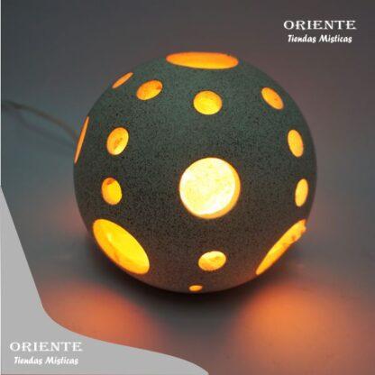 lampara sal del imalaya esfera