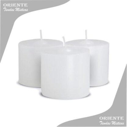 velon blanco para souvenir de 5.6 cm de diamtro y 5.5 de altura suvenir