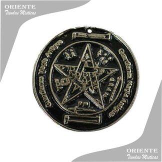 medalla tegragramatron grande talisman podereso