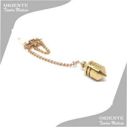 Pendulo chico de bronce prumo