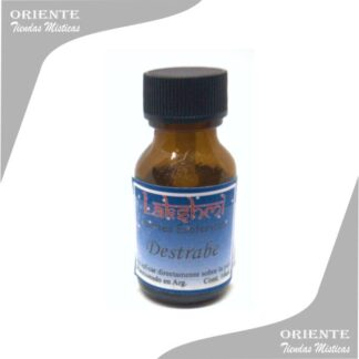 aceite destrabe puro de 10 cc en botella color caramelo