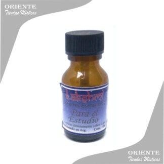 aceite para el estudio puro de 10 cc en botella color caramelo