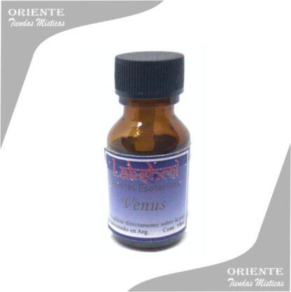 aceite venus puro de 10 cc en botella color caramelo