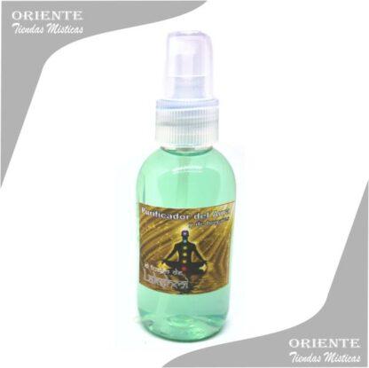 Loción aurica , de color lila también denominado spray aurico para limpiar el aura o perfume aurico