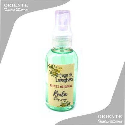 Loción ruda, de color verde también denominado spray aurico de ruda o perfume de ruda