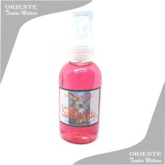 Loción contra todo , de color rosado también denominado spray aurico san miguel o perfume contra todo