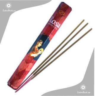 sahumerio de la india de Rosa sree vani caja roja economico