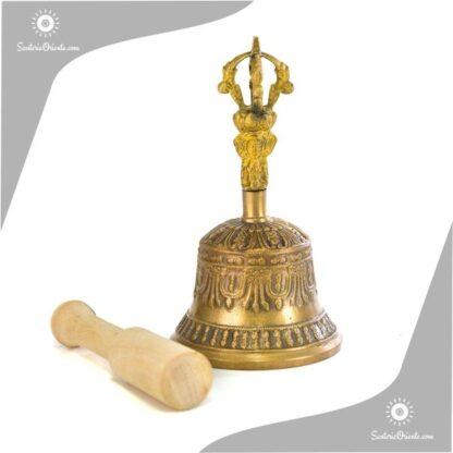 canoaba tibetana de 7 metales de 13,5 cm