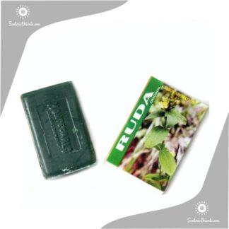 jabon Ruda montecarlo color verde en caja