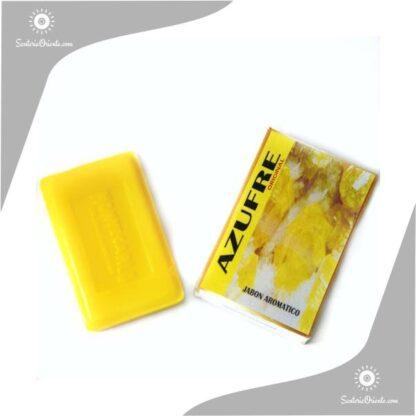 jabon azufre montecarlo color amarillo en caja