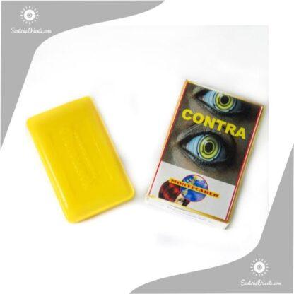jabon contra montecarlo color amarillo en caja