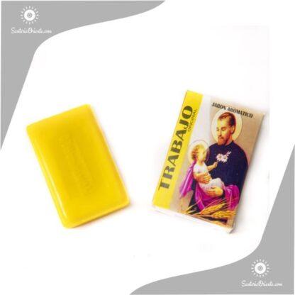 jabon san cayertano montecarlo color amarillo en caja