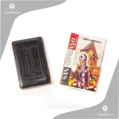 jabon san cipriano montecarlo color negro en caja