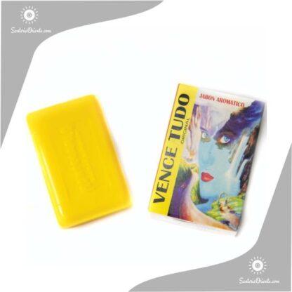 jabon vence todo montecarlo color amarillo en caja