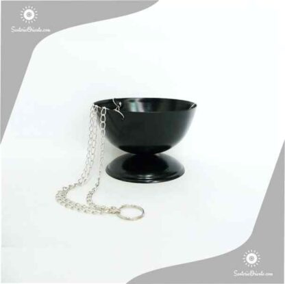 insiensero sahumador de metal con cadena