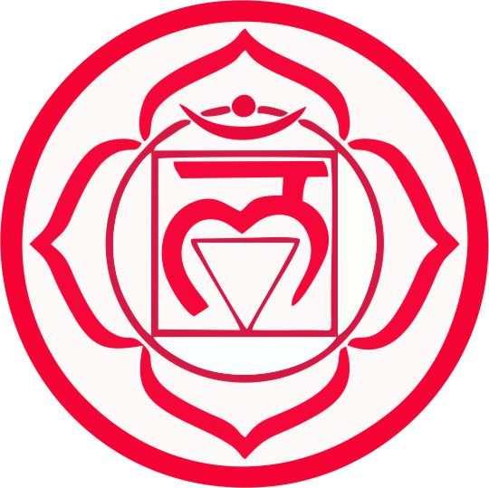 simbolos de chakras Rojo mulhadara