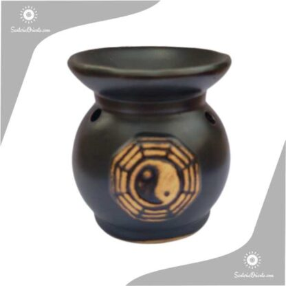 Hornillo con simbolo ying yang