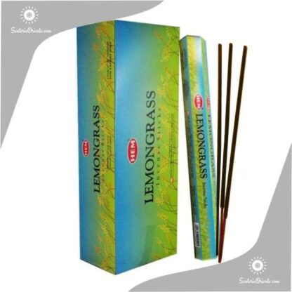 sahumerio lemongrass de hem x 20 varillas