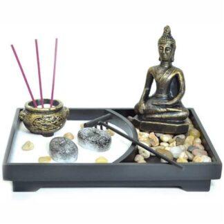 Jardin Zen BUda meditando 22x15x10