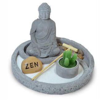 Jardin Zen Buda de Cemento 19x15
