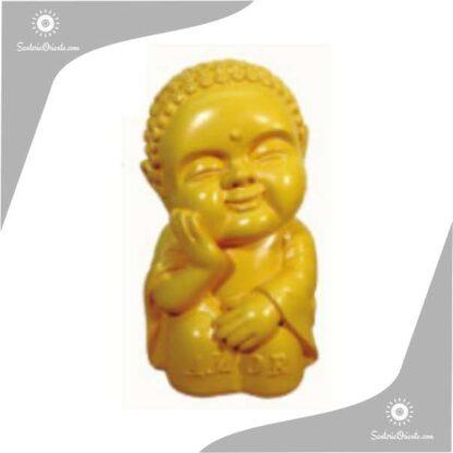 buda bebe yeso color amarillo 21 cm