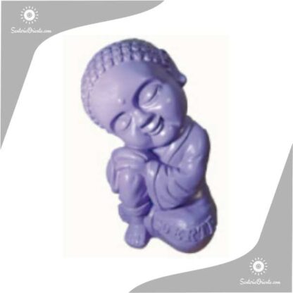 buda bebe yeso color lila 21 cm