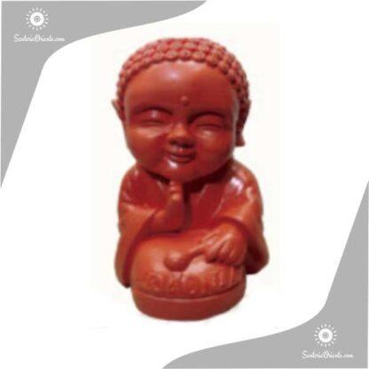 buda bebe yeso color rojo 21 cm