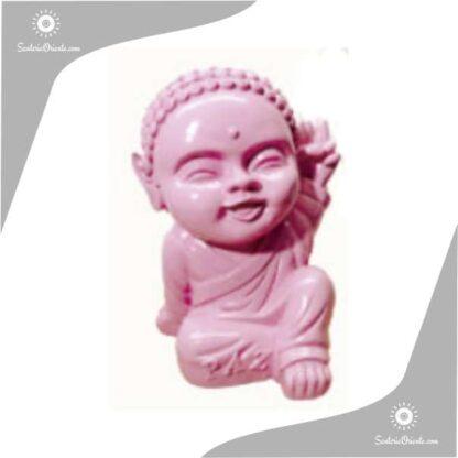 buda bebe yeso color rosa 21 cm