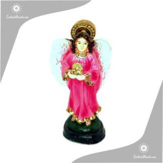 imagen de yeso del arcangel chamuel en 15 cm