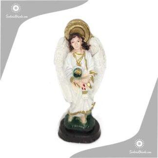 imagen de yeso del arcangel san gabriel en 15 cm