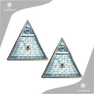 portasahumerio metal piramide ojo