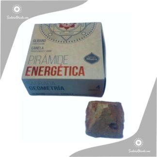 Piramide energetica olibano y canela sagrada madre x 4 unidades