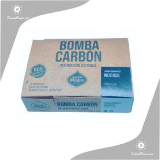 bomba carbon incienso x caja de 24 unidades sagrada madre