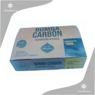 bomba carbon yagra x caja de 24 unidades sagrada madre