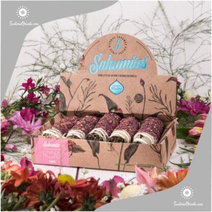 sahumitos de rosa sagrada madre x 5 unidades