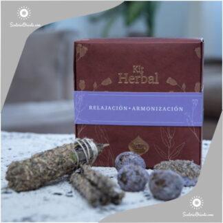 Kit herbal Relajacion y armonizacion