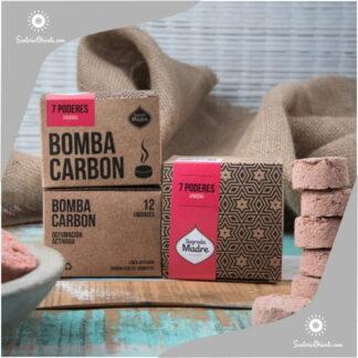bomba carbon 7 poderes x 12 unid.